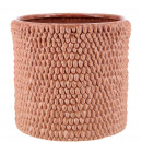 Ceramic bucket Danil, D13,5cm, H13cm, for TO12, ro